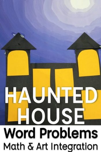 Haunted House Math and Art Integration Project
