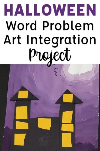 Halloween Math and Art Integration Project