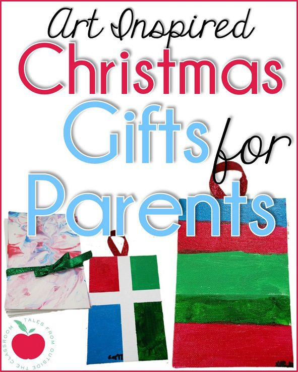 Art inspired parent gifts for Christmas