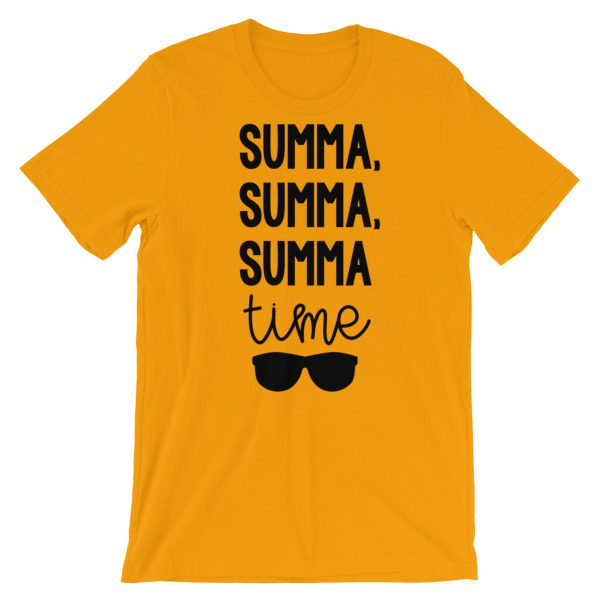 Summa, summa, Summa time tee gold