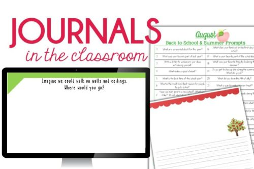 Journals in the Classroom