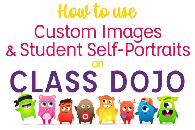 Self Portrait Custom Class Dojo Avatars Tales From Outside The Classroom