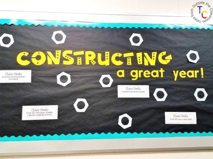 Constructing a great year students and goals