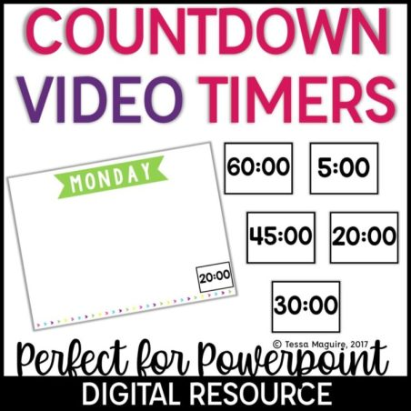 Countdown Video Timers cover