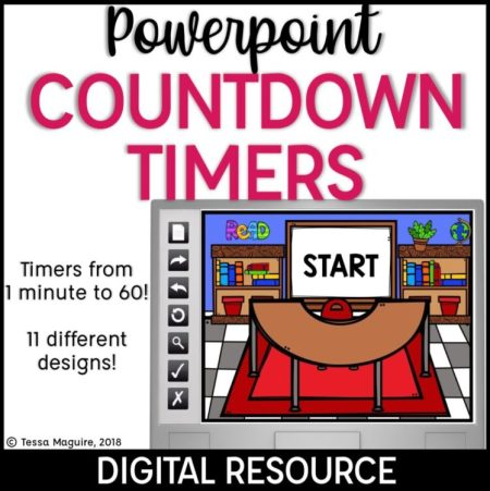 Powerpoint Countdown Timers cover photo