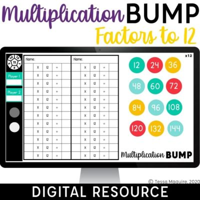Digital Multiplication Bump Factors to 12