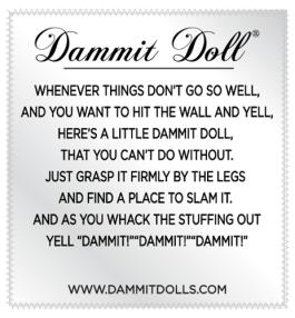 Dammit doll poem
