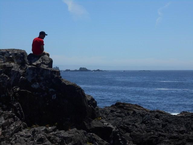 Dylan at the Ocean