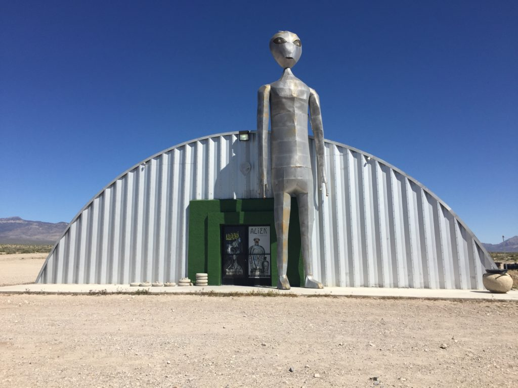 Alien Research Center, Nevada, Lincoln  County, Pahranagat Valley, Great Basin, Extraterrestrial Highway, Desert, Area 51