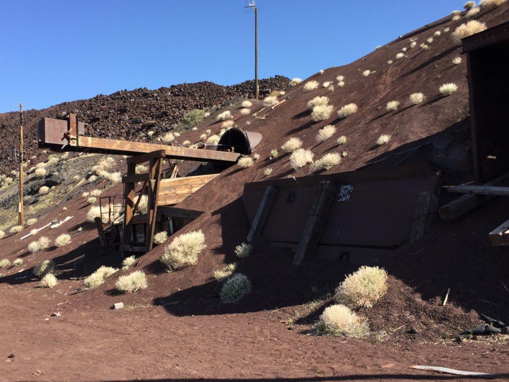 Mojave National Preserve, Mojave Desert, Mine, Aiken Cinder Mine, California
