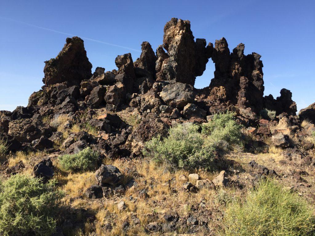 Mojave National Preserve, Mojave Desert, Mine, Aiken Cinder Mine, California, Arch