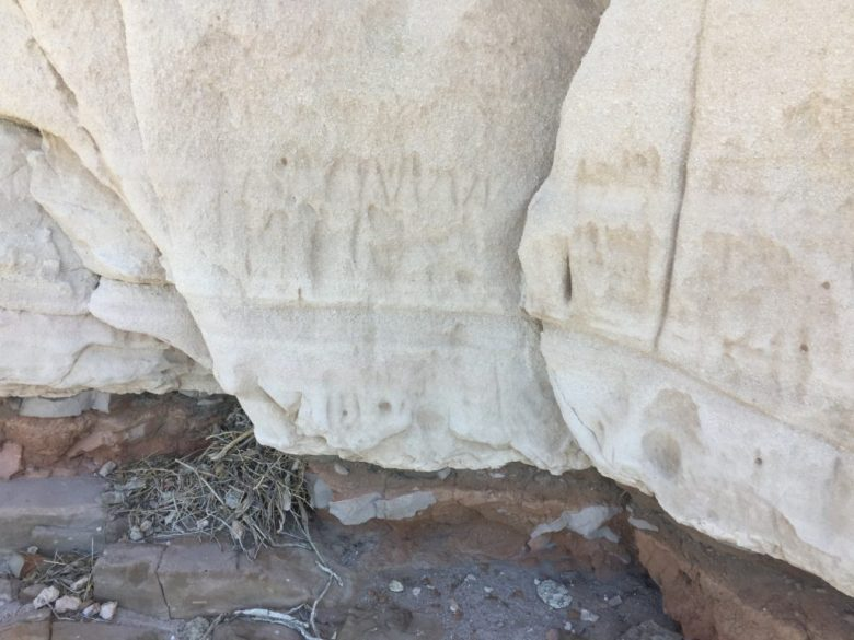 White River Narrows, Ash Hill, Pahranagat Valley, Lincoln County, Great Basin, Nevada, Petroglyphs, Rock Art