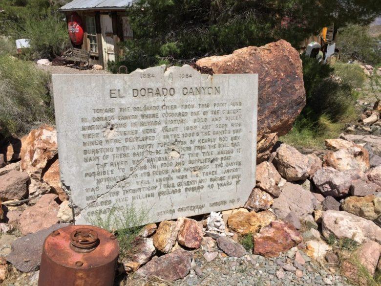 El Dorado Canyon, Nelson, NV, Techatticup Mine, Mine