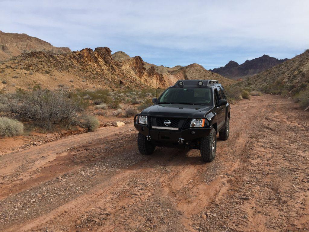 Lake Mead, Nevada, Lake Mead NRA, Lake Mead National Recreation Area, Nissan Xterra