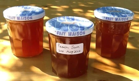 Slow Cooker Peach Jam