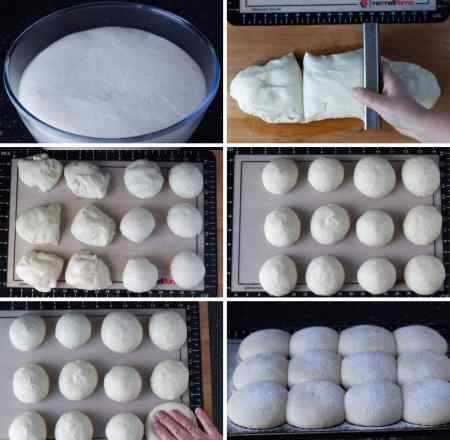 Everyday Bread Rolls, Ted's Rolls| https://www.talesfromthekitchenshed.com | Sarah James