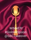 Golden Spoon Award from The Sunday Bake Club to Sarah James @ Tales From The Kitchen Shed
