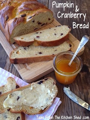 Pumpkin & Cranberry Bread