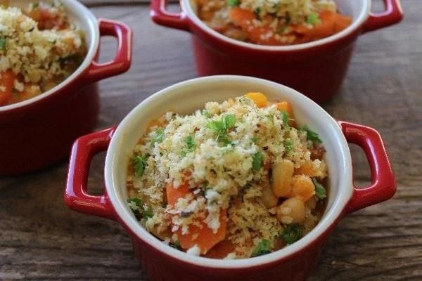 Slow Cooker Vegetable & Cider Cassoulet