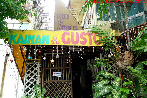 Eating with Gusto at Kainan au Gusto