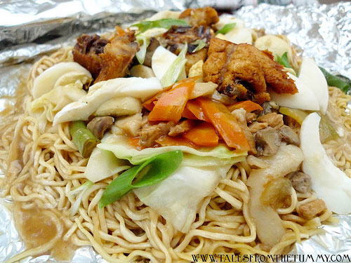 Orchid's Pancit Surprise