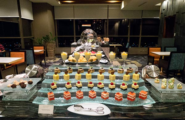 Bellevue Manila Signature Club Lounge Desserts