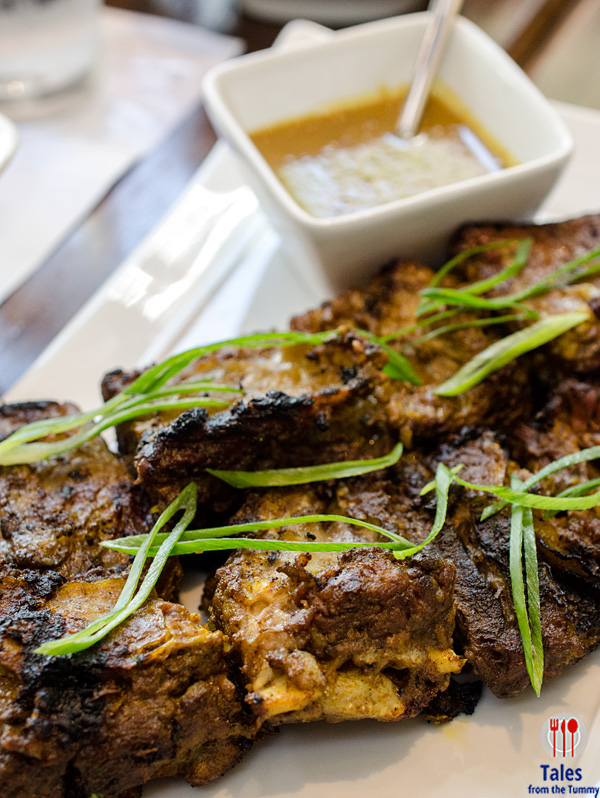 Lasa Bistro Alabang Spiced Coconut and Lemongrass Beef Skewers
