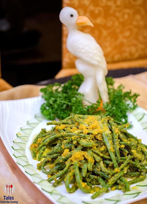 King Chef French Beans with Salted Egg