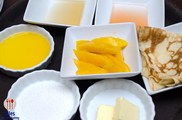 One Way Restaurant Crepes Suzette