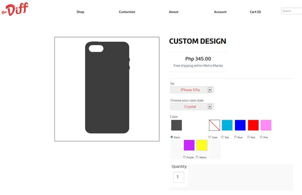 the diff customize your own