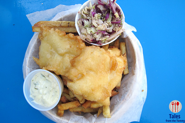Go Fish Ocean Emporium Halibut Fish and Chips