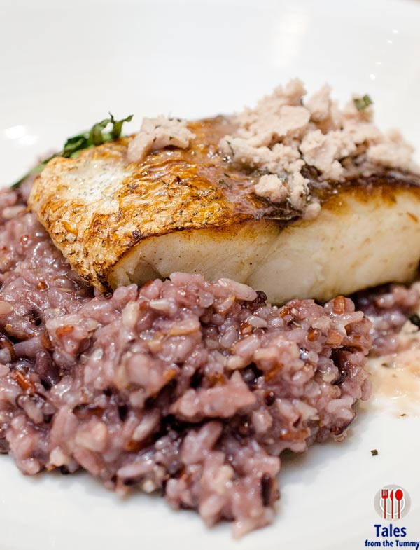 Duck and Buvette Pan Seared Hake with 3 Grains Risotto 01