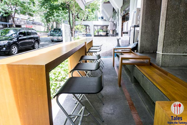 Local Edition Coffee and Tea  Makati Outdoor Seating