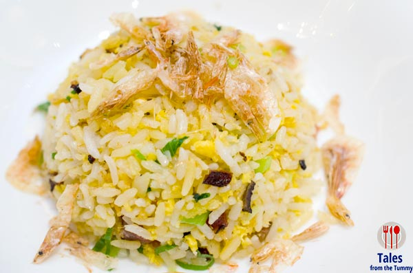 Makati Shangrila Shang Palace Huaiyang Fried Rice with Preserved meat and Dried Shrimps