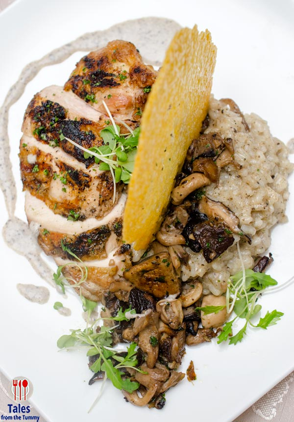 Discovery Suits 22 Prime Lunch Specials Chicken Mushroom Risotto