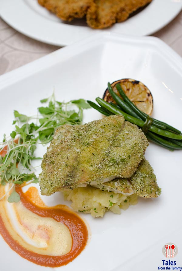 Discovery Suits 22 Prime Lunch Specials Herbs Crusted Fish