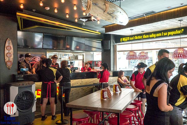 Teddy's Bigger Burgers PH Greenbelt 3 Indoor seating