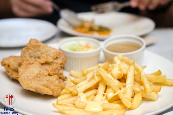 Marmalade Kitchen Forum BGC Country Fried Chicken with Cheesy Fries