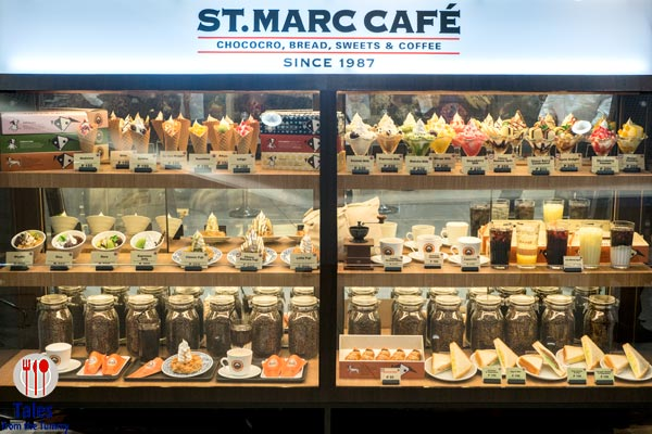 St Marc Cafe SM Megamall Display