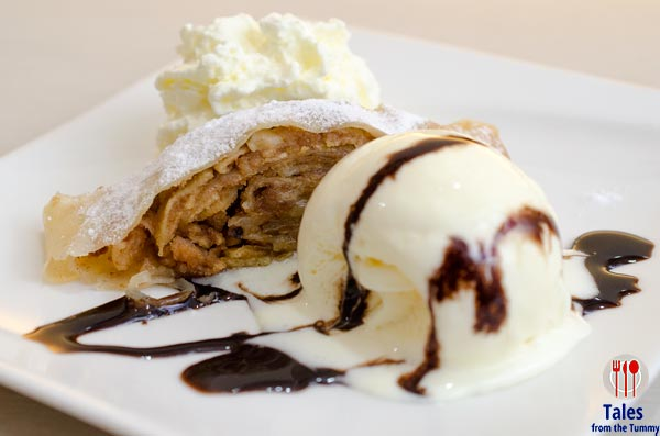 Swiss Deli Restaurant BF Apple Strudel