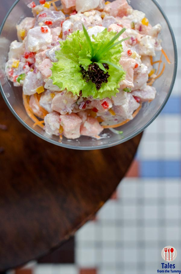 Raffles Manila Long Bar Kinilaw Asian Ceviche