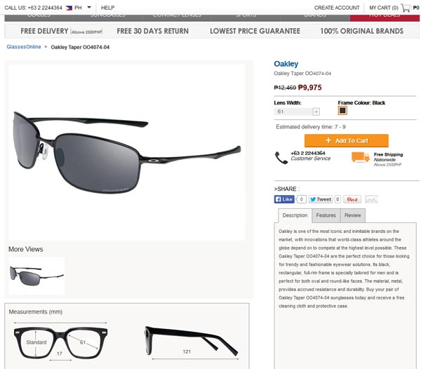 oakley online shop ph