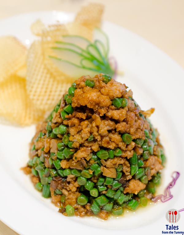Lung Hin Marco Polo Ortigas Minced Pork with String Beans