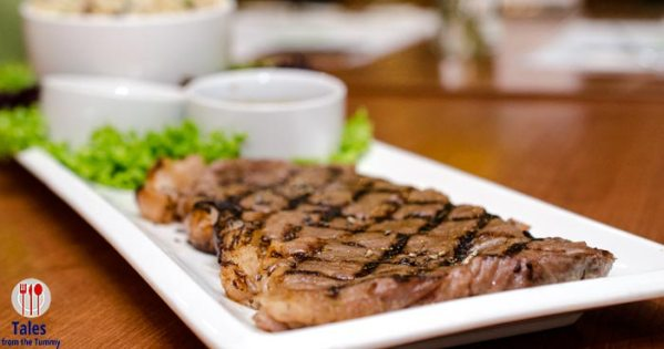 Meeting the A5 Wagyu Sirloin at Mesclun Bistro Serendra