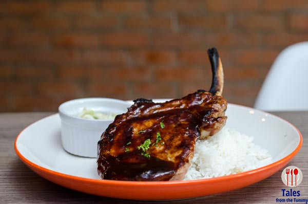 Tomahawk Chops and Grill Kapitolyo Grilled Pork Chop