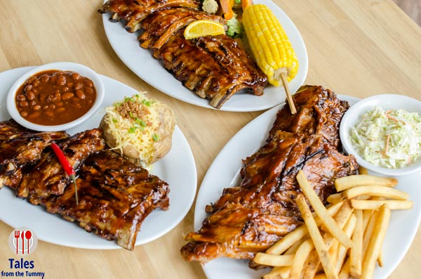 Tony Romas BGC World famous Ribs