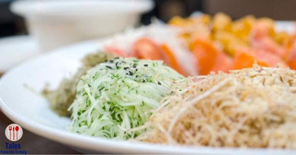 Yu Sheng and New Chef's Recommendations at Crystal Jade Dining In