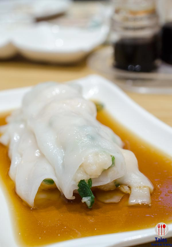 Tim Ho Wan Manila SM Fashion Hall Shrimp Vermicelli Roll
