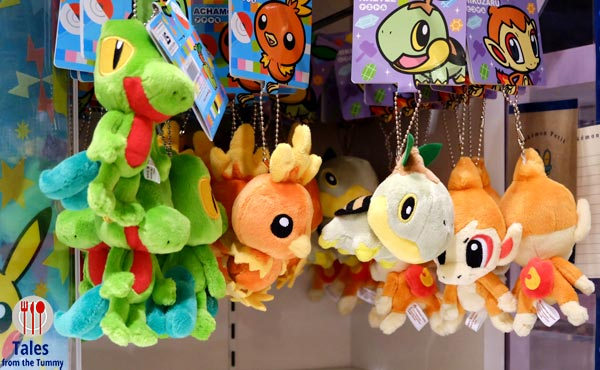 Pokemon Center Daimaru Umeda Osaka Bag Charms