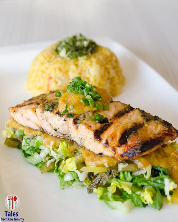 Neils Kitchen Alabang Sinigang na Grilled Salmon